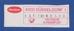 AFS - Düsseldorf, Henkel - Poststempel - Freistempel