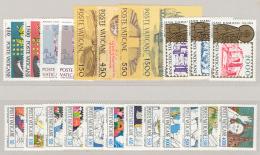 Vaticano 1984 Annata Completa/Complete Year MNH/** - Annate Complete