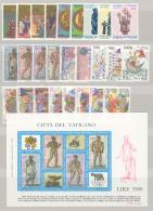 Vaticano 1987 Annata Completa/Complete Year MNH/** - Vaticano