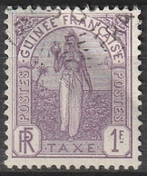 GUINEE TAXE N° 7 - Used Stamps