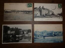 Lot De 109 Cartes Postales Du Département De La NIEVRE 58 - Nombreux Villages - 100 - 499 Postcards