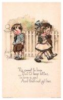 Valentine Tis Sweet To Love -and Not Git Her - Saint-Valentin