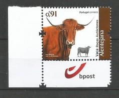 Portugal   2019 ,  Alentejana - Animals - Vaca Racas Autoctones - Postfrisch / MNH / (**) - Neufs