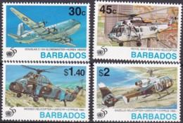 Barbados, 1995, 885/88, 50 Jahre Vereinte Nationen (UNO). MNH ** - Barbados (1966-...)