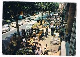 ES-2201  ARENYS DE MAR : Mercado Tipico En La Rambla ( DKW Kombi) - Barcelona