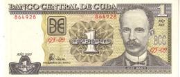 Cuba P 128 1 Peso 2005  UNC - Cuba