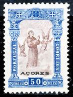 !■■■■■ds■■ Azores 1895 AF#79(*) St. Anthony. 50 Réis (x7116) - Azores