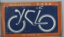 PLAQUE ÉMAILLÉE - LE CYCLO - Bikes & Mopeds