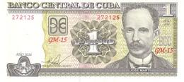 Cuba P 128 1 Peso 2016 UNC - Cuba
