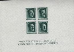 Deutsches Reich 1937-45  Geburtstag Von Adolf Hitler Postfrisch Einwandfrei - Non Classificati