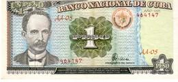 Cuba P 112 1 Peso 1995 UNC - Cuba