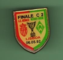 FOOT *** FINALE C2  A.S MONACO - WERDER BREME *** 27-02 - Voetbal
