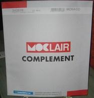 MOC - JEU MONACO MOCLAIR 2011 (Avec Pochettes) - Pré-Imprimés