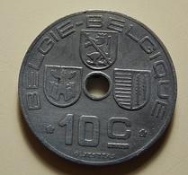 Belgium 10 Centimes 1944 - 02. 10 Centimes