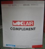 MOC - JEU MONACO MOCLAIR 2009 (Avec Pochettes) - Pré-Imprimés