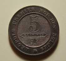 Belgium 5 Centimes 1861 I Don't If Varnished Or Not - 1831-1865: Léopold I