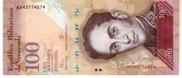 Venezuela P.93 100 Bolivares 2015  Unc - Venezuela