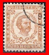 MONTENEGRO SELLO AÑO 1874  Prince Nicholas I - Montenegro