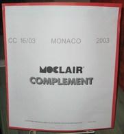 MOC - JEU MONACO MOCLAIR 2003 (Avec Pochettes) - Pré-Imprimés