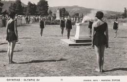 Grèce - Olympie XV ( N°78 ) ; Jeux Olympiques ,( Photo Agfa ) - Olympische Spiele