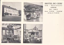 Assesse Hotel Du Cerf Bar Restaurant Route Namur - Marche - Assesse