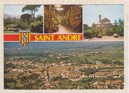 9AL94 ST SAINT ANDRE MULTI VUES    2 SCANS - Autres Communes