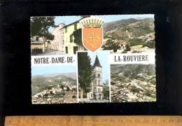 NOTRE DAME DE LA ROUVIERE Gard 30 : Multivues  / Café / Publicité Murale SINGER Advertising - Notre-Dame-de-la-Rouvière
