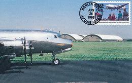 D35925 CARTE MAXIMUM CARD 1998 USA - AIRPLANE DOUGLAS C-54C CP ORIGINAL - Aerei