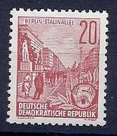 180031093  ALEMANIA  DDR..  YVERT  Nº   191  */MH - [6] República Democrática