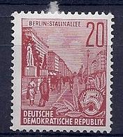 180031101  ALEMANIA  DDR..  YVERT  Nº   317B  */MH - [6] República Democrática