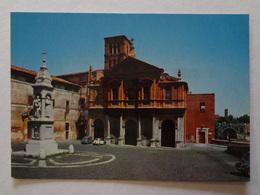 606- Cartolina Roma Piazza E Basilica S.Bartolomeo Nv - Piazze