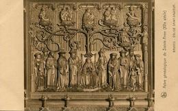 ARBRE GENEALOGIQUE DE SAINTE ANNE (XVE SIECLE) - EGLISE SAINT-SAUVEUR, BRUGES - ART POSTAL CARD -LILHU - Genealogy