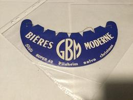 Calot Chapeau Visière Publicitaire Bières GBM Moderne - Publicités