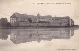 CPA Paimpont - L'Abbaye - Côté De L'Étang (39031) - Paimpont