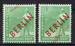 Berlin 1949 // Mi. 24 ** 2x - Nuevos