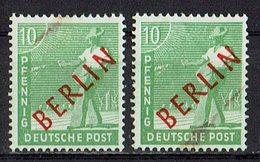 Berlin 1949 // Mi. 24 ** 2x - Neufs