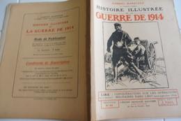 86 Histoire Illustrée Guerre 1914-Opérations Militaires-Lorraine-Offensive Défensive-Blamont Rue Barbas-Vitrimont-Woëvre - Riviste & Giornali