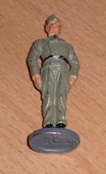Militärische Figur - SOLDAT Aus Metall, Bemalt, Rarität, Gute Erhaltung, Höhe 7,5 Cm - 1939-45
