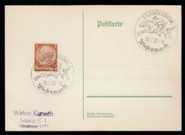Deutsches Reich Postkarte Ungelaufen Sonderstempel 1937 Erbach Odenw 326D - Deutschland