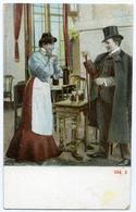 ROMANTIC COUPLE - WAITRESS & GENTLEMAN 934.2 - Couples