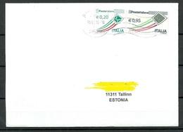 ITALIA ITALY 2019 Cover To Estonia - 6. 1946-.. Republic