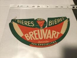 Calot Chapeau Visière Publicitaire Bières BREUVART Armentières - Publicités