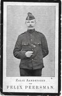 Peersman Felix (gesneuveld Waasmunster 1880 - Weilhem 1917 - Religion & Esotérisme