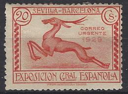 España 0447 * Expo Sevilla 1929. Goma Alterada - Nuevos