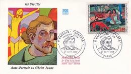 France FDC Paul Gauguin Paris 21/09/1968 - 1970-1979