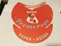 Calot Chapeau Visière Publicitaire Bières  Limonade Primerose Brasserie Coudekerque-Branche - Publicités