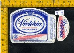 Etichetta Acqua Minerale Estera Victoria - Etichette