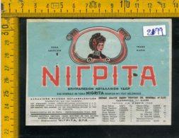 Etichetta Acqua Minerale Estera Nigrita Grecia - Etichette