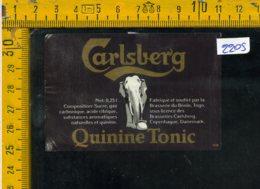 Etichetta Bibita Acqua Minerale Tonica Carlsberg - Etichette