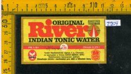 Etichetta Bibita Acqua Minerale Tonica Indian - Etichette